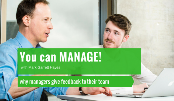 why managers give feedback