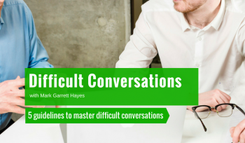 master difficult conversations management training
